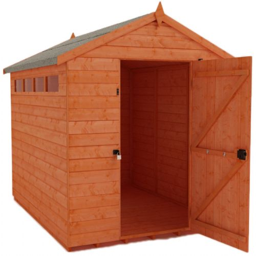 Security apex garden shed for Garden shed security