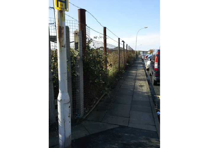 Commercial clearance and fence fitting work undertaken by bradfordbrothers.co.uk Ossett, Wakefield, Leeds