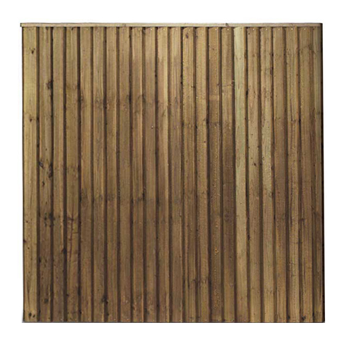 Feathered Edge Fencing Panel | Garden Fence Panels