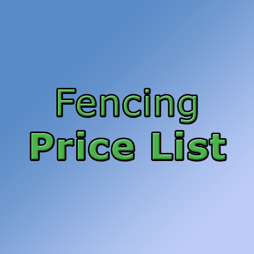 Download Fencing Price List in Ossett, Wakefield, Leeds
