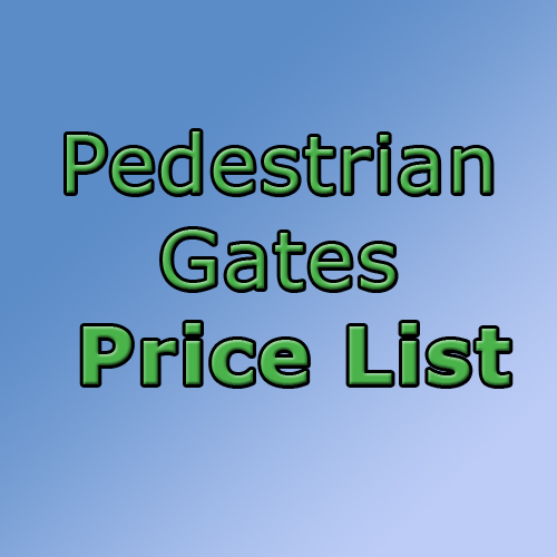 Download Pedestrian Gate Price List in Ossett, Wakefield, Leeds